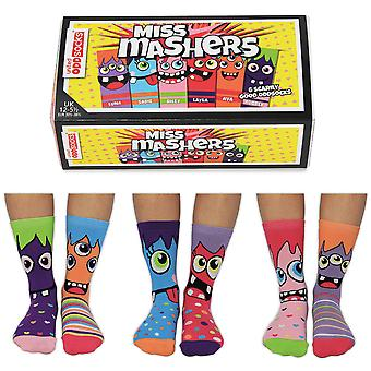 United Oddsocks Miss Mashers Sock Gift Set For Girl's
