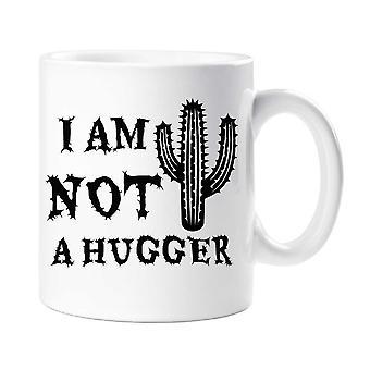 Cactus I'm Not A Hugger Mug