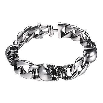 Skull Bracelet-Silver