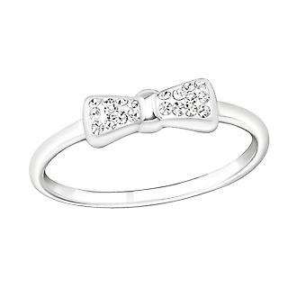 Bow - argento 925 anelli zirconi - W19426X