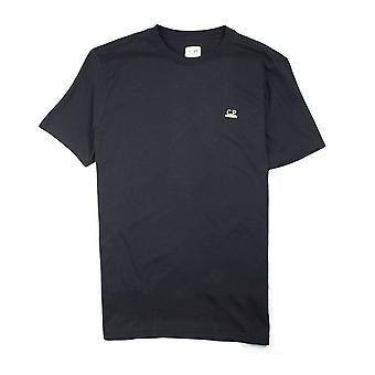 CP Company Gafas Capucha Imprimir Camiseta Negro