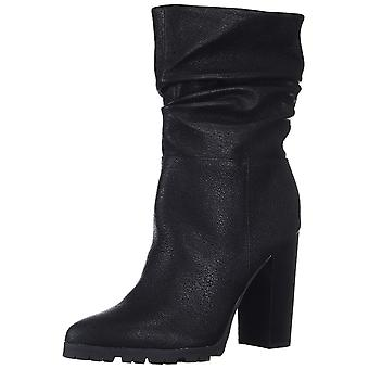 Katy Perry Women's The Raina Mid Calf Boot, Black, 6.5 M M US
