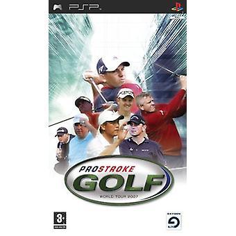 ProStroke Golf World Tour 2007 (PSP) - New
