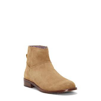 ED Ellen DeGeneres Womens Zaliya Leather Closed Toe Ankle Clog Boots