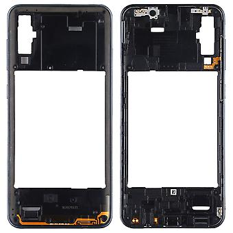 Back Housing Frame for Samsung Galaxy A50 Black Bezel Plate Spare Part Repair
