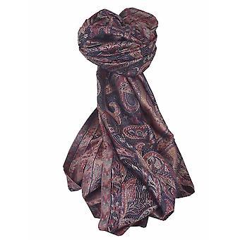 Mens Jamawar Premium Silk Scarf Pattern 5019 by Pashmina & Silk
