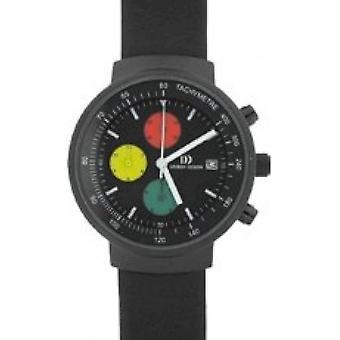 التصميم الدنماركي - ساعة اليد - الرجال - IQ14Q766 الفولاذ المقاوم للصدأ.