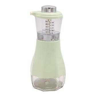 Pump bottle for oil and vinegar-green