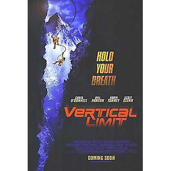 Verticale limiet (Advance) originele Cinema poster