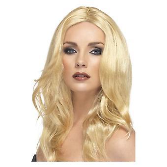 Womens Blonde Superstar perruque déguisements accessoires