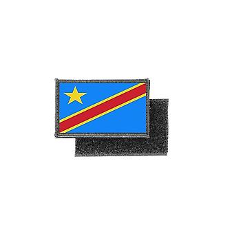 Patch ecusson prints flag badge congo rdc