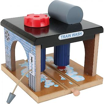 Small Foot Wooden Train Wash