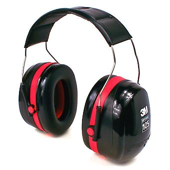 3M Peltor Optime 105 Over-the-Head Earmuff, Hearing Conservation #H10A