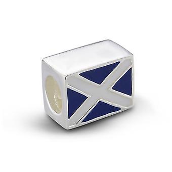 Scottish flagget til Skottland minnesmerke perle Charm