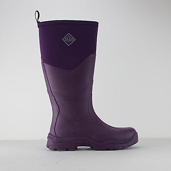 Muck Boots Greta Ii Max Ladies Rubber Wellington Boots Purple