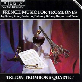 Tritone Trombone Quartet - French Music for Trombones [CD] USA import