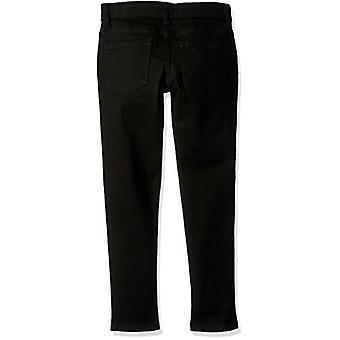Die Kinder's Place Girls' Little Zipper Pocket Skinny Jegging Hose, Black W...
