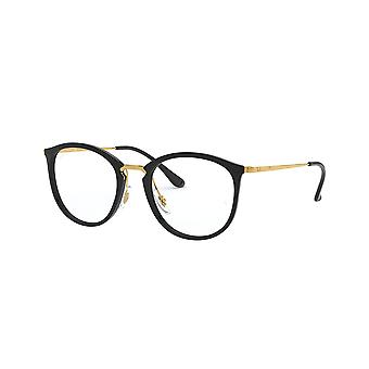 Ray-Ban RB7140 2000 Shiny Black Glasses