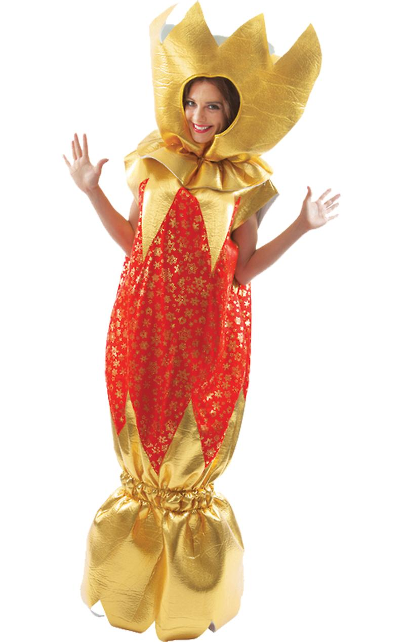 Orion Costumes Unisex Giant Red And Gold Christmas Cracker Novelty Fancy Dress