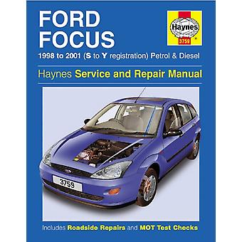 Ford Focus 9801 by Haynes Publishing