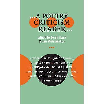 Een poëzie kritiek lezer door Jerry Harp - Jan Weissmiller - 978087745