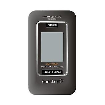 Tranzystor Radio Sunstech RPD12BK AM/FM LCD Czarny