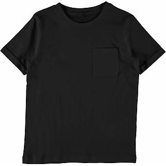 Name-It T-Shirt Vester Black