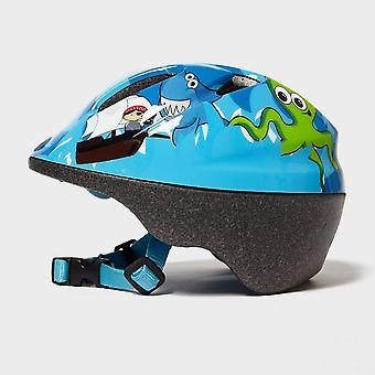 New Raleigh Kids' Rascal Pirate Bike Helmet Blue