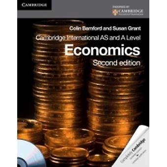 Cambridge International AS Level and A Level Economics Coursebook with CDROM Cambridge International Examinations by Susan J Grant Colin Bamford