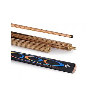 PowerGlide Classic Vibe snooker 50/50 2 stuk Cue hardhout decal Butt 10mm Tip