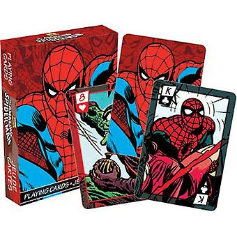 Marvel - spiderman comics playing cards