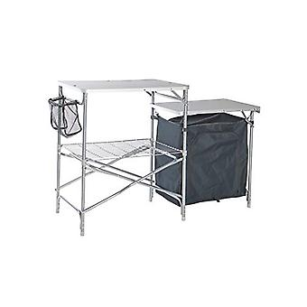 Vango Bistro DLX Foldable Camping Kitchen Silver