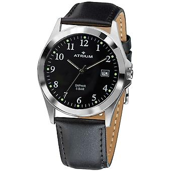 ATRIUM Men's Watch Wristwatch Analog Quartz A18-11 Leather