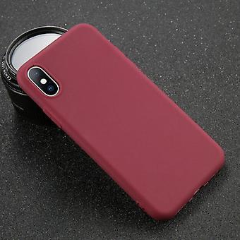 USLION iPhone XR Ultraslim Silicone Case TPU Case Cover Brown
