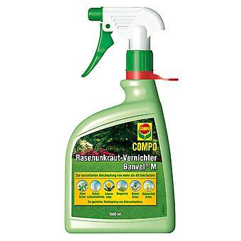 COMPO Plen Weed Killer Banvel® M AF, 1000 ml