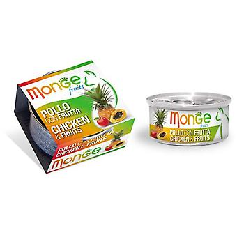 Monge Ns Wet Cat Chicken And Fruits (Cats , Cat Food , Wet Food)