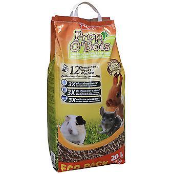 Tyrol Limpiador Wood Litter Prop'O Bois (Roditori , Igiene e pulizia , Pulizia gabbie)