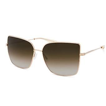 Barton Perreira Mystere BP0029 0VD Gold/Smoky Topaz Sunglasses