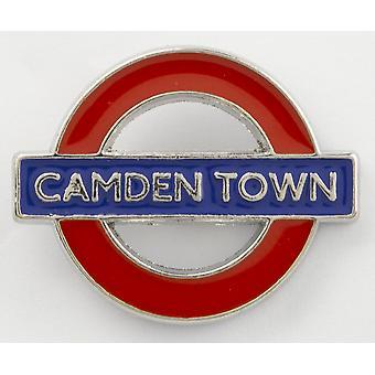 Tfl™7004 licensed camden town roundel™ pin badge