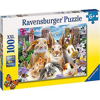 Ravensburger Rabbit Selfie XXL 100pc Jigsaw Puzzle