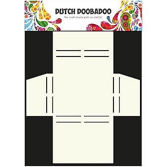 Néerlandais Doobadoo Dutch Box Art pochoir Merci A4 470.713.017