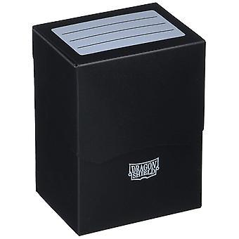 Arcane Tinman Dragon Shield Shell Deck Box carte de colectie negru o dimensiune