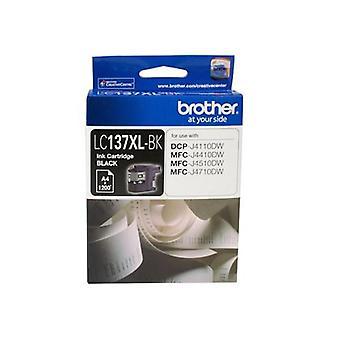 Brother-muste kasetti Lc137Xl riittoisa musta