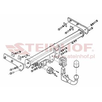 Steinhof Tow Bars And Hitches for XC60 2008 to 2017