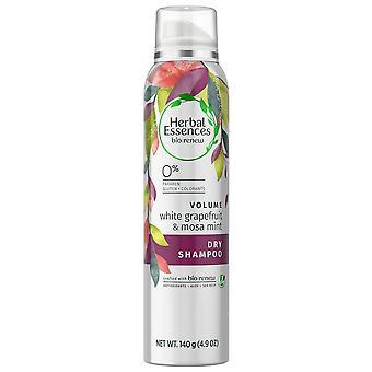 Herbal essences bio:renew white grapefruit & mosa mint dry shampoo, 4.9 oz