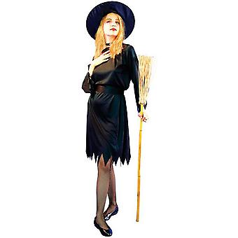Déguisement noir sorcière femme Halloween