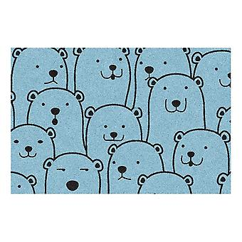 Kids Rug - Polar Bear - Washable - 50 x 75 cm