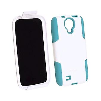 Ventev FusionPro Case for Samsung Galaxy S4 - White/Acqua