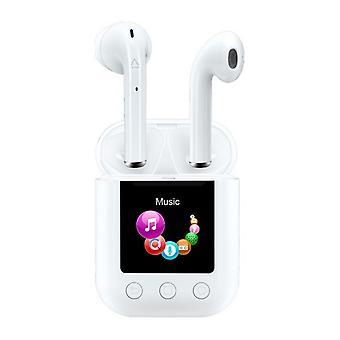 Bluetooth Headphones Denver Electronics TWM-850 8 GB 700 mAh White
