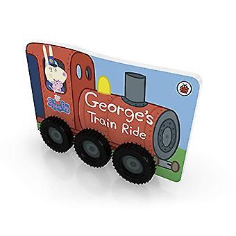 Peppa Pig - George's Train Ride by Peppa Pig - 9780241375891 Book